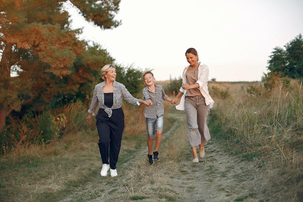 Glückliche Generationen
